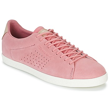 Chaussures Femme Baskets basses Le Coq Sportif CHARLINE SUEDE Rose