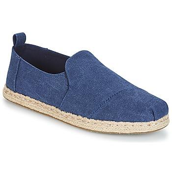 Chaussures Homme Espadrilles Toms DECONSTRUCTED ALPARGATA ROPE Bleu