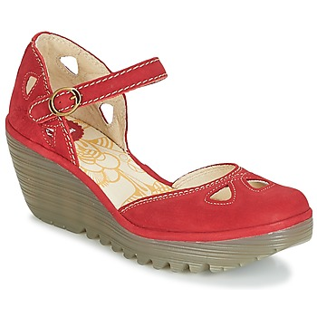 Chaussures Femme Escarpins Fly London YUNA Rouge