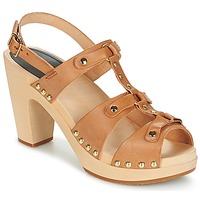 Chaussures Femme Sandales et Nu-pieds Swedish hasbeens BRASSY Camel