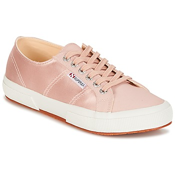 Chaussures Femme Baskets basses Superga 2750 SATIN W Rose