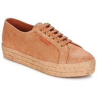 Chaussures Femme Baskets basses Superga 2730 LAME DEGRADE W Marron / Rose gold