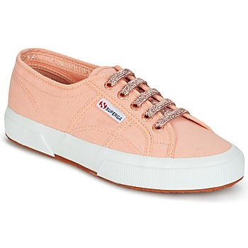 Chaussures Femme Baskets basses Superga 2750 CLASSIC SUPER GIRL EXCLUSIVE Pêche