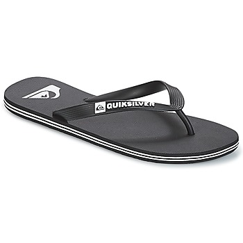 Chaussures Homme Tongs Quiksilver MOLOKAI M SNDL XKKW Noir