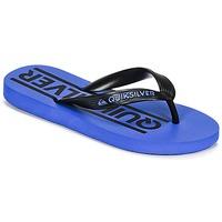 Chaussures Garçon Tongs Quiksilver JAVA WORDMARKYT B SNDL XKBK Bleu
