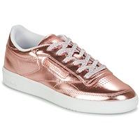 Chaussures Femme Baskets basses Reebok Classic CLUB C 85 S SHINE Rose métal