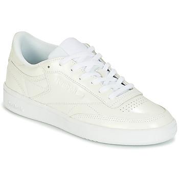 Chaussures Femme Baskets basses Reebok Classic CLUB C 85 PATENT Blanc