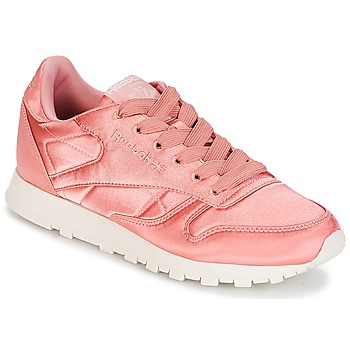 Chaussures Femme Baskets basses Reebok Classic CLASSIC LEATHER SATIN Rose