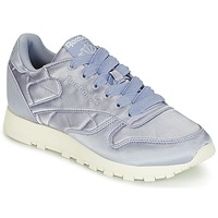 Chaussures Femme Baskets basses Reebok Classic CLASSIC LEATHER SATIN Violet