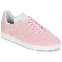 Chaussures Femme Baskets basses adidas Originals GAZELLE STITCH Rose