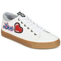Chaussures Femme Baskets basses Love Moschino JA15213G15 Blanc