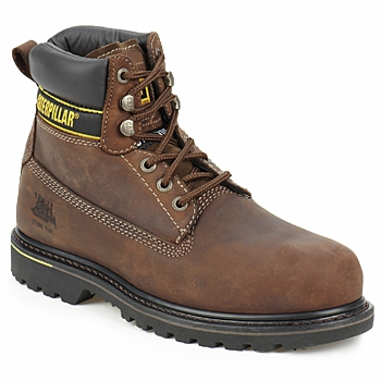 Chaussures Homme Boots Caterpillar HOLTON SB Brun