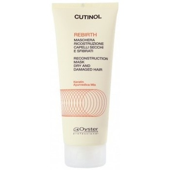 Beauté Soins & Après-shampooing Oyster Professional Oyster Cutinol Rebirth - Masque reconstructeur Cheveux secs - 20 Jaune