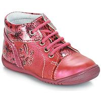 Chaussures Fille Boots GBB ROSEMARIE VNV FRAMBOISE-IMPRIME DPF/KEZIA