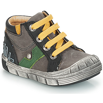 Chaussures Bottes ville GBB REINOLD NUV GRIS-NOIR DPF/2831