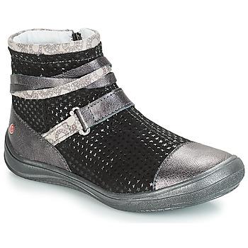 Chaussures Fille Bottes ville GBB ROCHELLE VTE GRIS DPF/REGINA