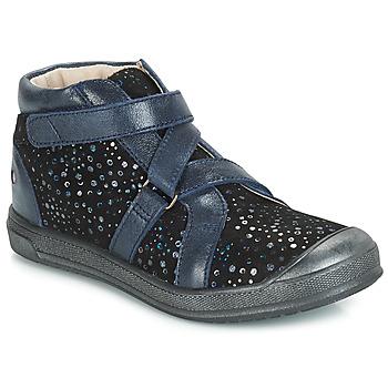 Chaussures Fille Boots GBB NADEGE VTE NOIR CONFETTI DPF/EDIT