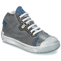 Chaussures Garçon Boots GBB RONALD VTU GRIS-BLEU DPF/TERRORE