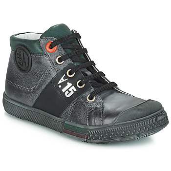 Chaussures Garçon Bottes ville GBB RUFINO NUV GRIS DPF/LUCKY
