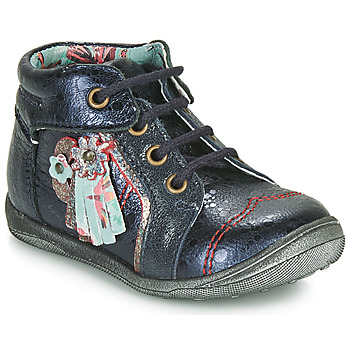 Chaussures Fille Boots Catimini RAINETTE VTE MARINE DPF/GLUCK