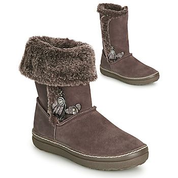 Chaussures Fille Bottes ville Catimini ROMA CTS BOIS DE ROSE DCH/RASK