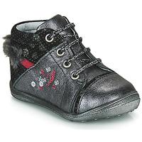 Chaussures Fille Boots Catimini ROULETTE VTC GRIS-ARGENT DPF/GLUCK