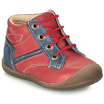 Chaussures Garçon Boots Catimini RATON VTE ROUGE-MARINE DPF/KIMBO