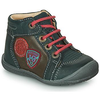 Chaussures Garçon Boots Catimini REGLISSE VTS PIN-MARRON DPF/KIMBO