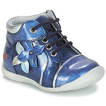 Chaussures Fille Boots GBB SONIA VVN BLEU-IMPRIME DPF/KEZIA