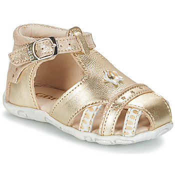 Chaussures Fille Sandales et Nu-pieds GBB SUZANNE CTV OR DPF/ZABOU