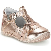 Chaussures Fille Ballerines / babies GBB SIXTINE Rose / Or