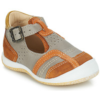 Chaussures Garçon Sandales et Nu-pieds GBB SIGMUND VTC TAUPE-FAUVE DPF/MILK