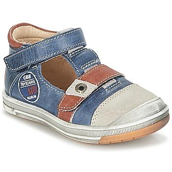 Chaussures Garçon Sandales et Nu-pieds GBB SOREL Marine / Marron