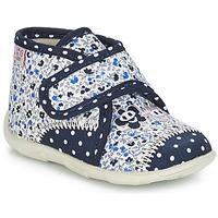 Chaussures Fille Chaussons GBB PASCALINE TTX MARINE-FLEUR DTX/AMIS