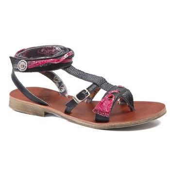 Chaussures Fille Sandales et Nu-pieds Catimini SABRALIA VTE MARINE-FUSHIA DPF/COCA