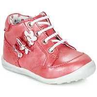 Chaussures Fille Boots Catimini SOLDANELLE VTE ROUGE NACRE DPF/GLUCK