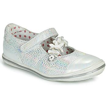 Chaussures Fille Ballerines / babies Catimini STROPHAIRE VTE ARGENT DPF/2851