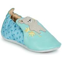 Chaussures Enfant Chaussons bébés Catimini SHIVA Bleu / GRis