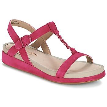 Chaussures Femme Sandales et Nu-pieds Hush puppies CHAIN T Framboise