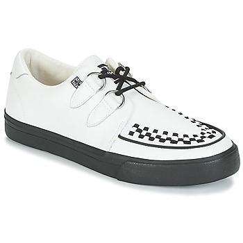 Chaussures Baskets basses TUK CREEPERS SNEAKERS Blanc / Noir