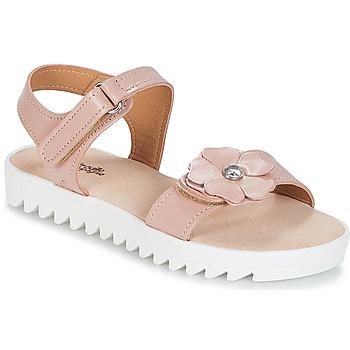 Chaussures Fille Sandales et Nu-pieds Citrouille et Compagnie ILODO Rose