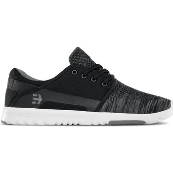 Chaussures Chaussures de Skate Etnies SCOUT YB BLACK GREY