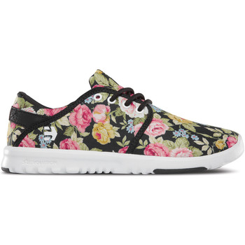 Chaussures Femme Baskets mode Etnies SCOUT WOS BLACK WHITE BLACK