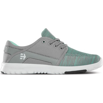 Chaussures Femme Baskets mode Etnies SCOUT YB WOS GREY