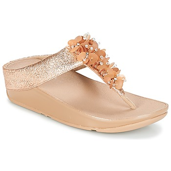 Chaussures Femme Tongs FitFlop BOOGALOO TOE POST Rose gold