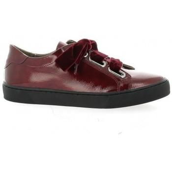 Chaussures Femme Baskets basses So Send Baskets cuir vernis rouge