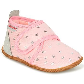 Chaussures Fille Chaussons Giesswein SALSACH Rose