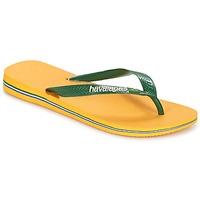 Chaussures Tongs Havaianas BRAZIL LOGO Jaune