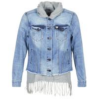Vêtements Femme Vestes en jean Scotch & Soda XAOUDE Bleu Clair / Gris