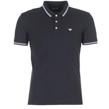 Vêtements Homme Polos manches courtes Emporio Armani TAMWU Marine